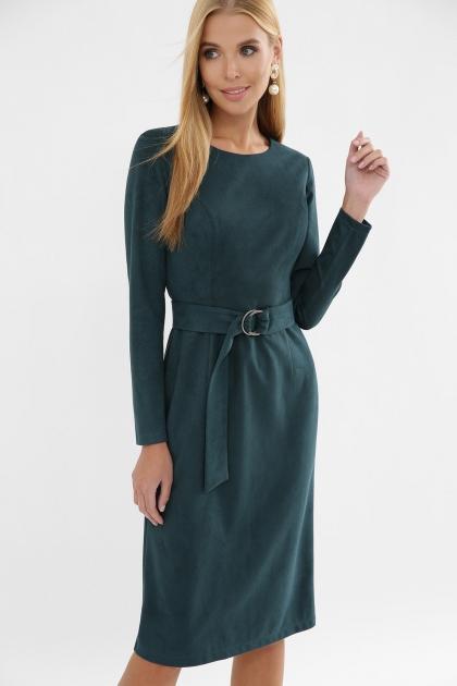 . Платье Гелия д/р. Цвет: изумруд цена