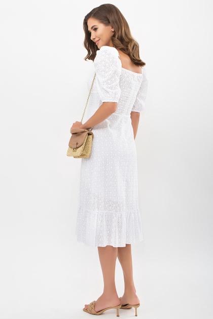 белое платье из прошвы. Платье Коста к/р. Цвет: белый цена