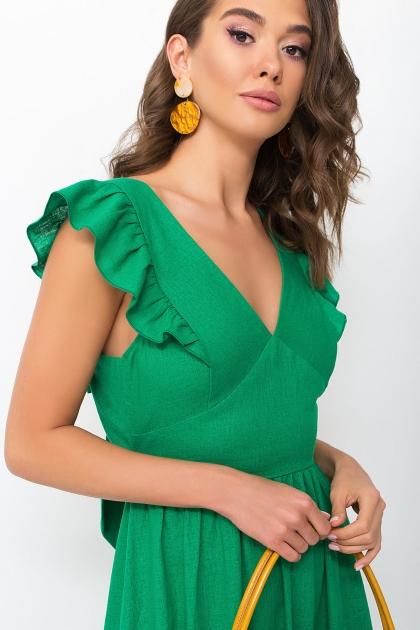 . Сарафан Одилия. Цвет: зеленый в интернет-магазине