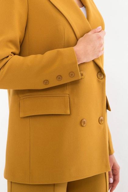 черный деловой пиджак. Пиджак Элейн д/р. Цвет: горчица в Украине