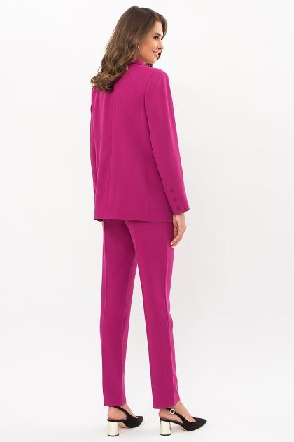 офисный пиджак цвета фуксии. Пиджак Сабера д/р. Цвет: фуксия в интернет-магазине