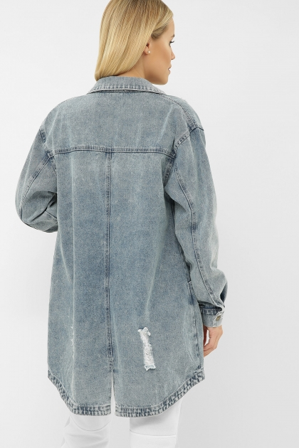 . 107 AST Куртка VА. Цвет: джинс в Украине