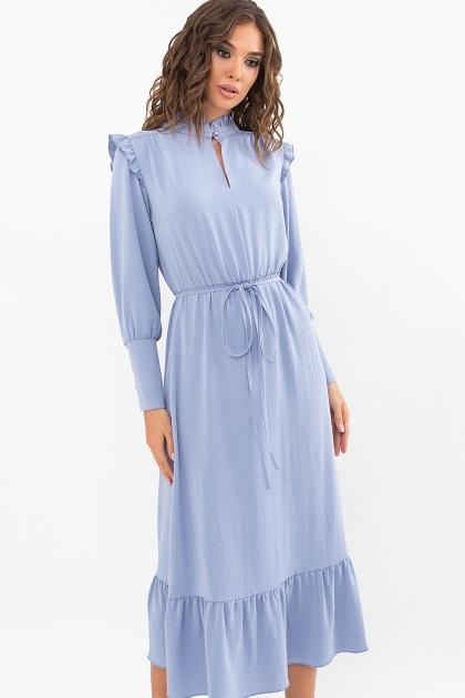 изумрудное платье миди. Платье Фернанда д/р. Цвет: джинс купить