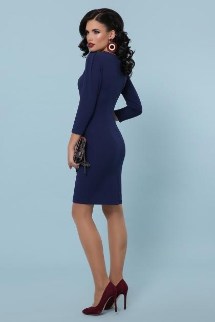 Платье выше колен темно-синего цвета. Платье Модеста д/р. Цвет: темно синий в интернет-магазине