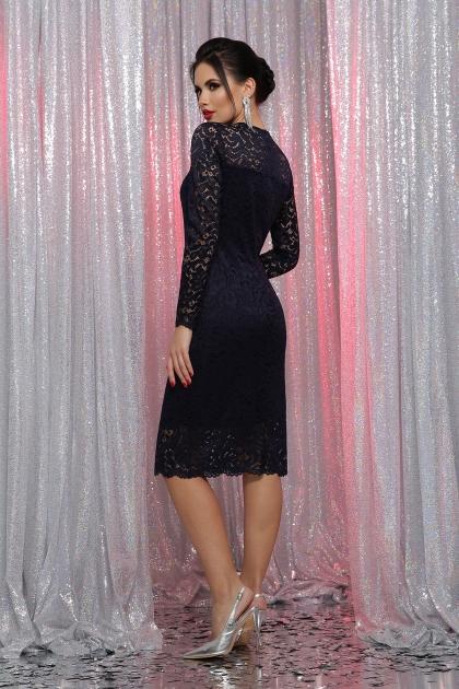 кружевное красное платье. Платье Сания д/р. Цвет: синий в интернет-магазине