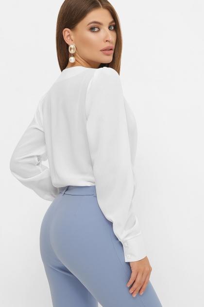 белая блузка-боди. Блуза-боди Карен д/р. Цвет: белый цена