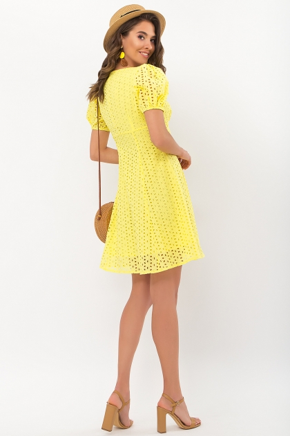 . Платье Эдна к/р. Цвет: желтый цена
