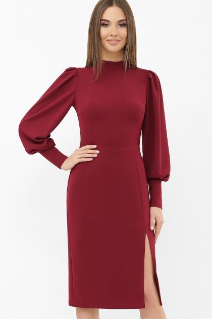 . Платье Айла д/р. Цвет: бордо купить