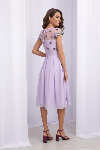нарядное платье лавандового цвета. Платье Айседора б/р. Цвет: лавандовый 1 в интернет-магазине