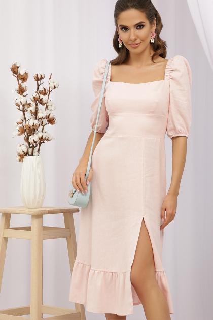 . Платье Коста-Л к/р. Цвет: пудра цена