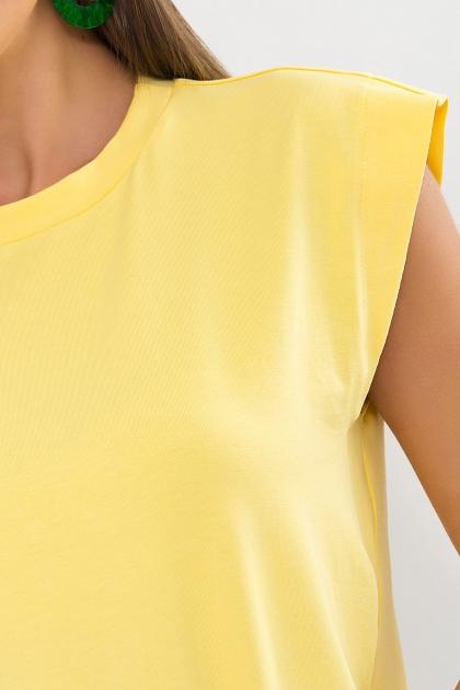 . Футболка Эмеральда б/р. Цвет: желтый в интернет-магазине