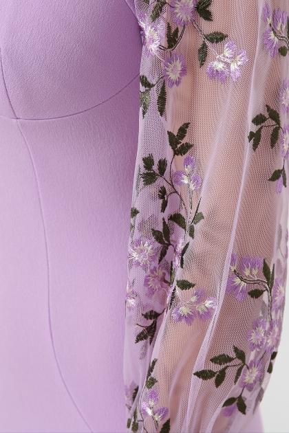 нарядное лавандовое платье. Платье Флоренция В д/р. Цвет: лавандовый 1 в Украине