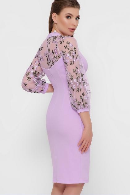 нарядное лавандовое платье. Платье Флоренция В д/р. Цвет: лавандовый 1 в интернет-магазине