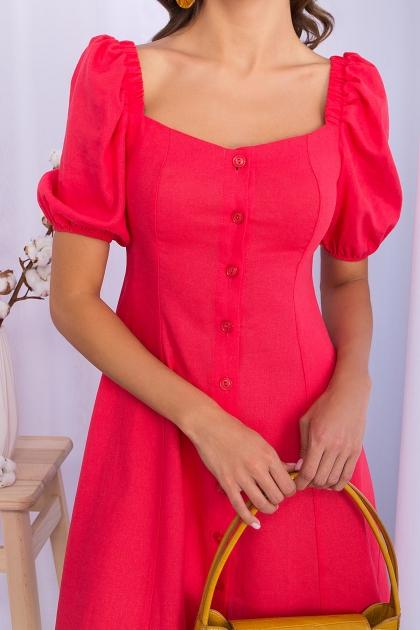 . Платье Абелия к/р. Цвет: коралл в интернет-магазине