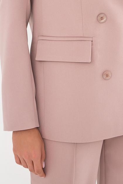 черный деловой пиджак. Пиджак Элейн д/р. Цвет: св.лиловый в интернет-магазине