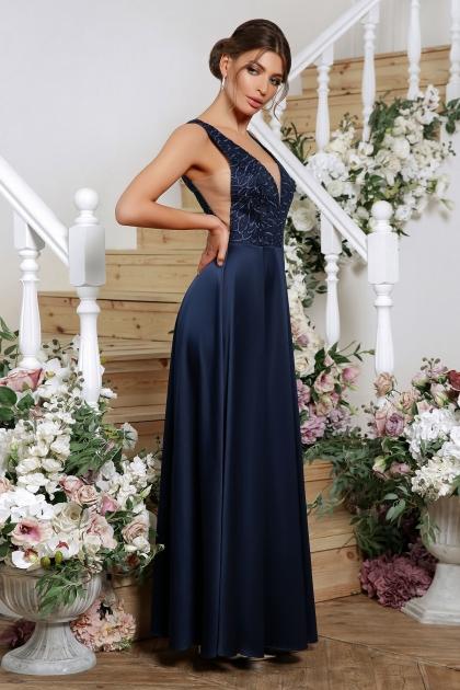 синее вечернее платье. Платье Мэйси б/р. Цвет: синий купить