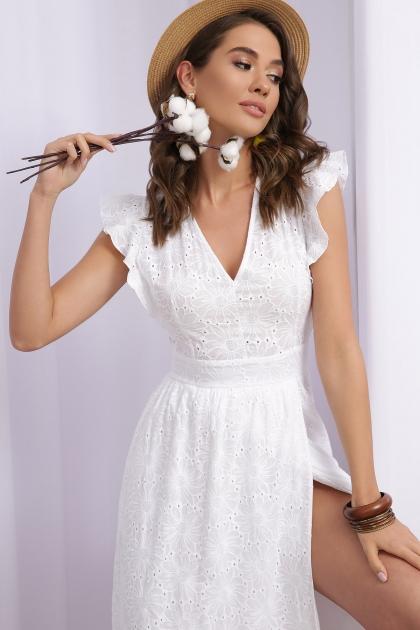 летнее белое платье. Платье Дария б/р. Цвет: белый 1 цена