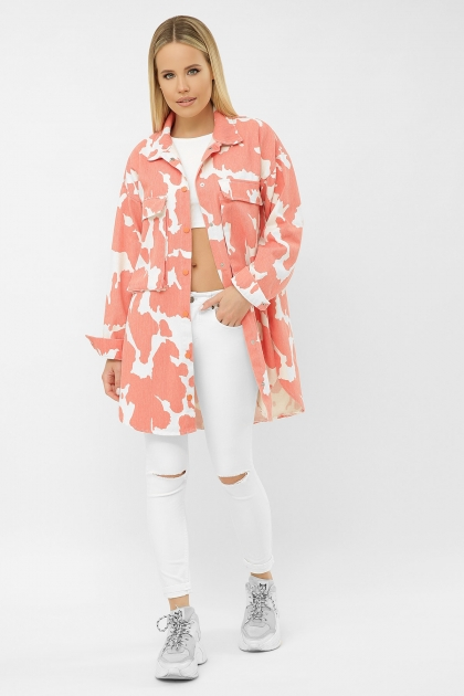 . 2034 Куртка VS-J. Цвет: коралл купить