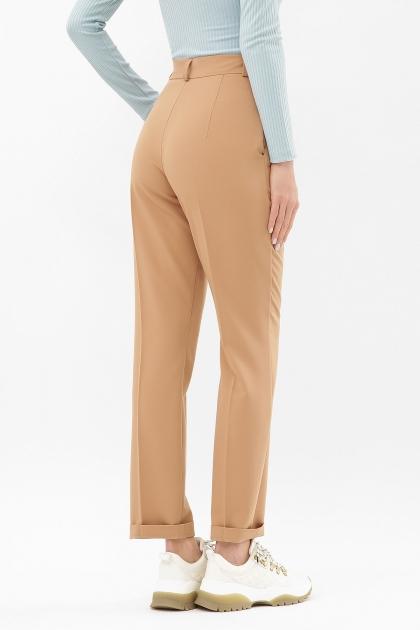 женские брюки цвета фуксии. Брюки Мирей. Цвет: бежевый цена