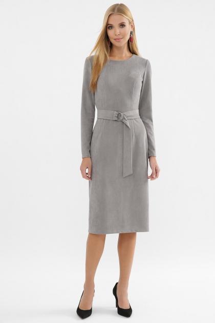 . Платье Гелия д/р. Цвет: серый купить