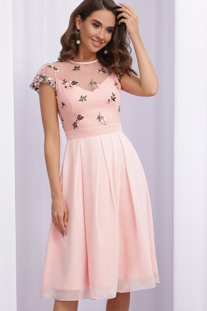 нарядное платье лавандового цвета. Платье Айседора б/р. Цвет: персик 1 купить