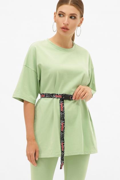 зеленый костюм с легинсами. Костюм Хизер Л. Цвет: ментол купить