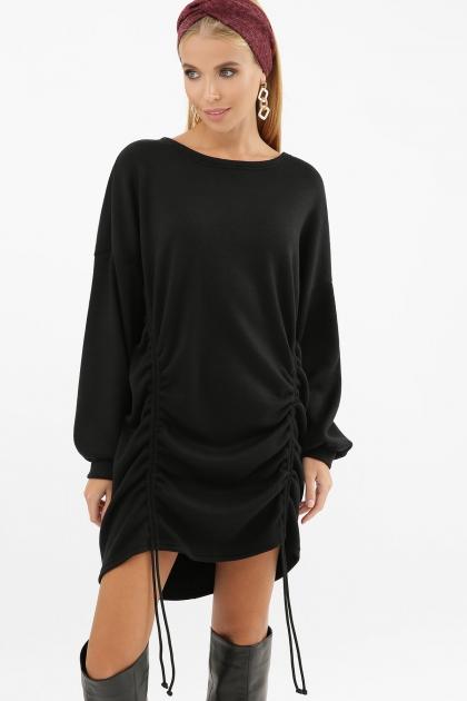 терракотовое платье с длинным рукавом. Платье Диля д/р. Цвет: черный купить