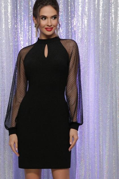 . Платье Маргарет д/р. Цвет: черный купить