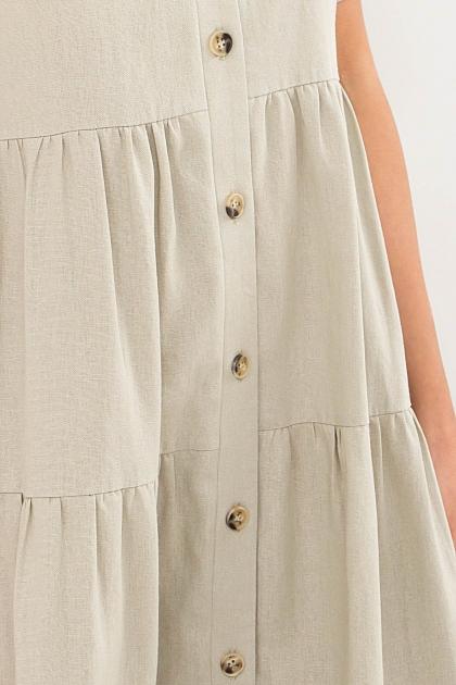 . Платье Иветта к/р. Цвет: оливковый в Украине