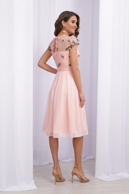 нарядное платье лавандового цвета. Платье Айседора б/р. Цвет: персик 1 в интернет-магазине