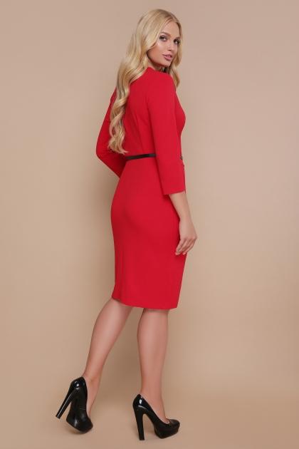 синее платье больших размеров. Платье Элария-Б д/р. Цвет: красный цена