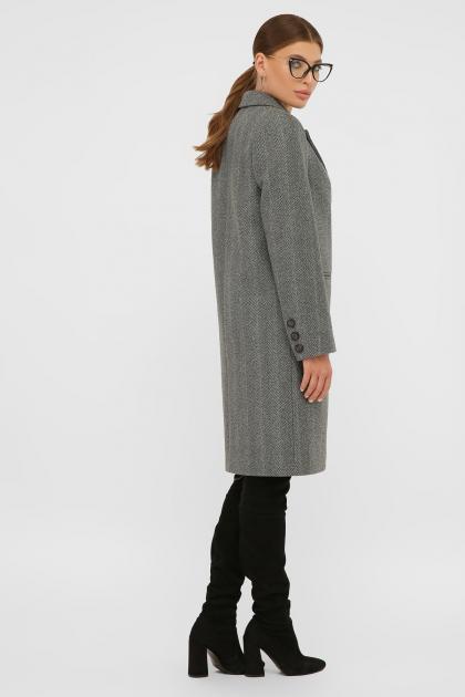 . Пальто П-394-95. Цвет: 2709-серый в интернет-магазине