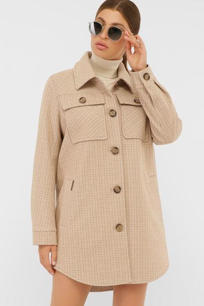 . Пальто П-409-85. Цвет: 2705-бежевый цена