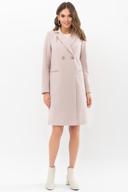 . Пальто П-394-95. Цвет: 2336-пудра цена