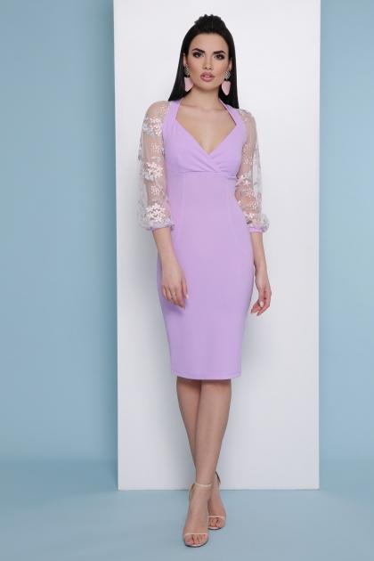 нарядное лавандовое платье. Платье Флоренция В д/р. Цвет: лавандовый цена