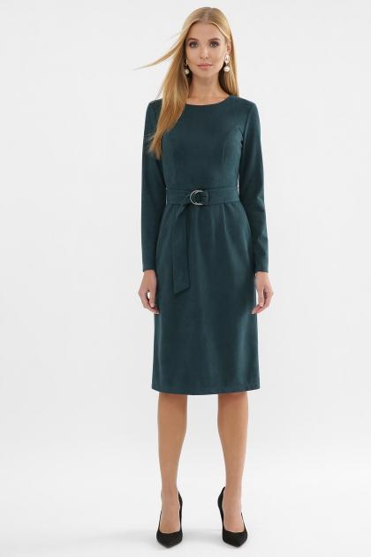 . Платье Гелия д/р. Цвет: изумруд купить