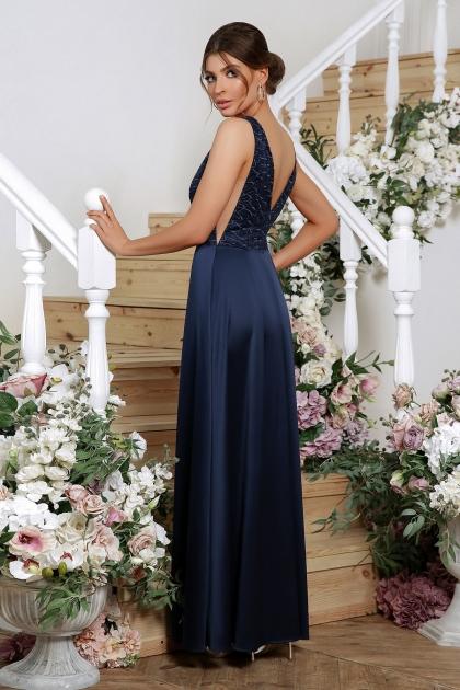 синее вечернее платье. Платье Мэйси б/р. Цвет: синий цена