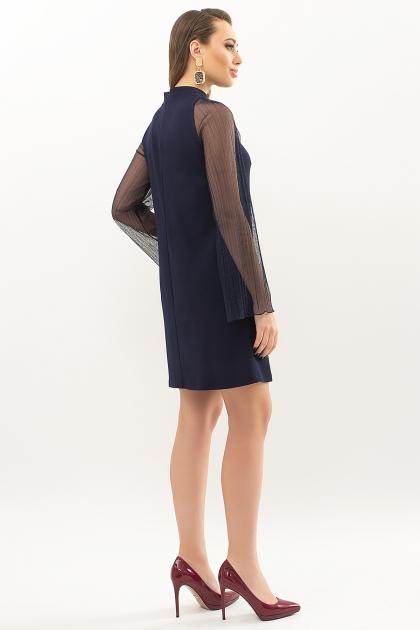 розовое платье с широкими рукавами. Платье Вилма д/р. Цвет: синий цена