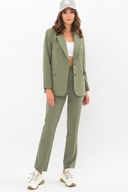офисный пиджак цвета фуксии. Пиджак Сабера д/р. Цвет: хаки цена