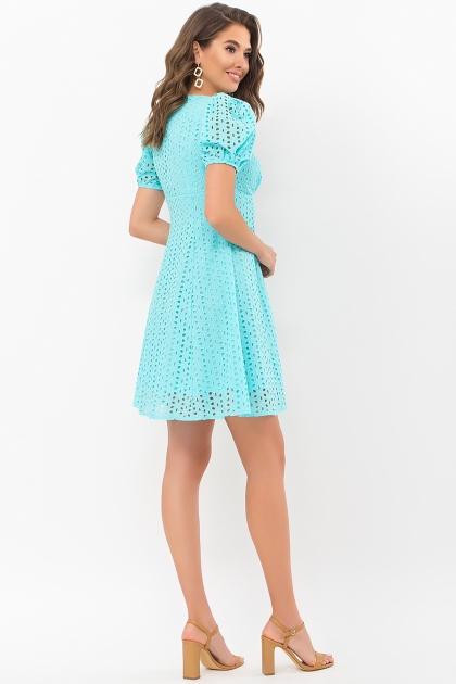 . Платье Эдна к/р. Цвет: бирюзовый цена