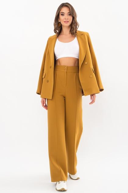 черный деловой пиджак. Пиджак Элейн д/р. Цвет: горчица в интернет-магазине
