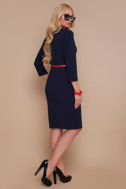 синее платье больших размеров. Платье Элария-Б д/р. Цвет: синий цена