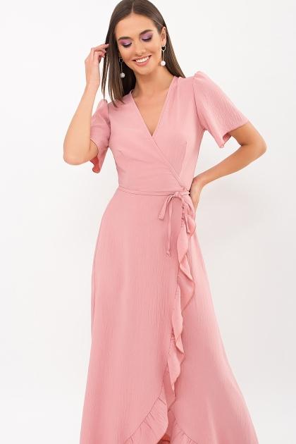 . Платье Румия-1 к/р. Цвет: розовый персик цена