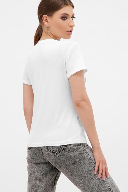 футболка с принтом для девушек. Девушка с бантом Футболка Boy-2. Цвет: белый купить