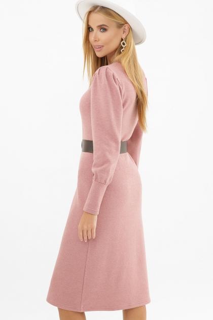 терракотовое платье из ангоры. Платье Жизель д/р. Цвет: пыльная роза в Украине