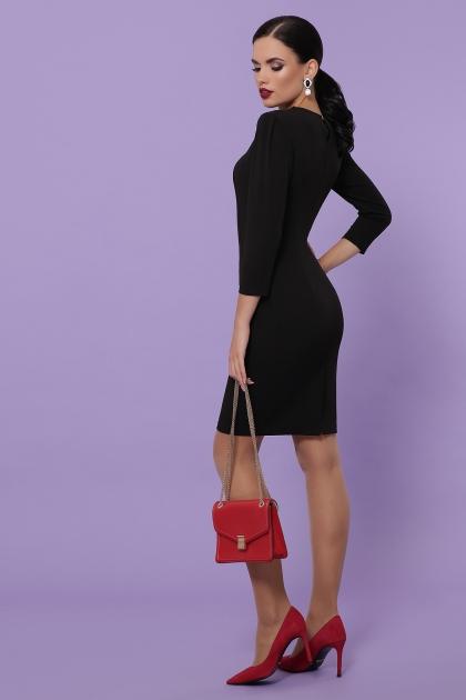 Платье выше колен темно-синего цвета. Платье Модеста д/р. Цвет: черный в интернет-магазине