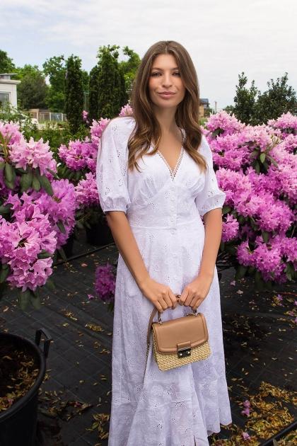 . Платье Саммери к/р. Цвет: белый недорого