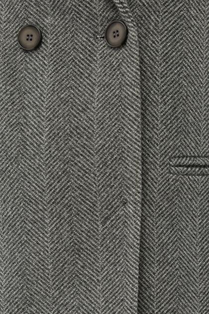 . Пальто П-394-95. Цвет: 2709-серый в Украине