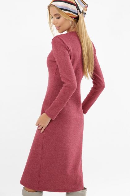 . Платье Альвия д/р. Цвет: бордо в интернет-магазине