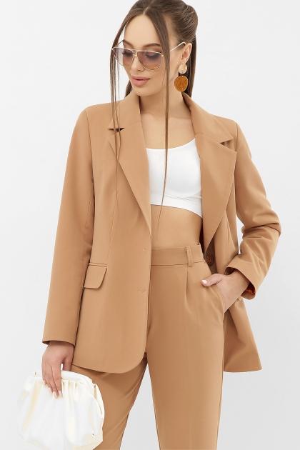 офисный пиджак цвета фуксии. Пиджак Сабера д/р. Цвет: бежевый купить